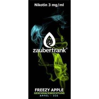 Zaubertrank Freezy Apple - 3mg