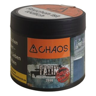 Chaos - Falim Code Red (Turkish Bubbles Code Red) 200g