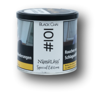 NameLess Tobacco - #101 Black Chai 200g