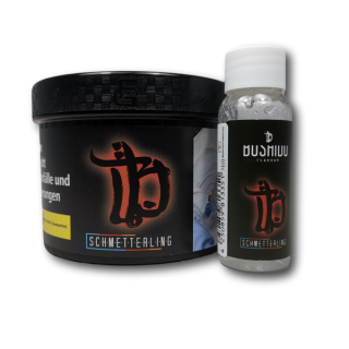 Bushido Tobacco - Schmetterling 200g + 20ml