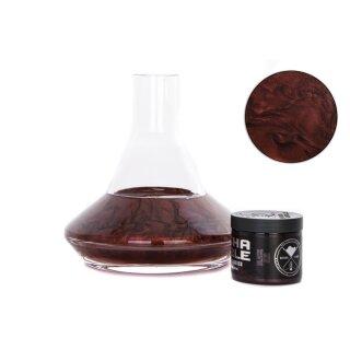 Shisha Bubble - Farbpulver - Black Red 50g
