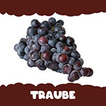 Dunkle Traube